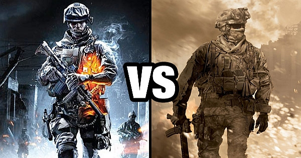 Battlefield versus Call Of Duty